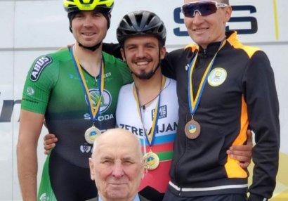 Velosipedçimiz Ukraynada birinci oldu