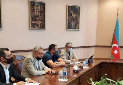 Çingiz Hüseynzadə WAKO prezidentini qəbul etdi