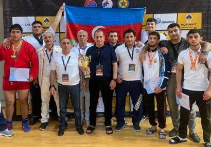 İdmançılarımız sambo üzrə Avropa çempionatında qalib oldu