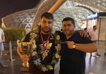 Nicat Əliyev Dünya Kubokunun qalibi oldu - FOTOLAR