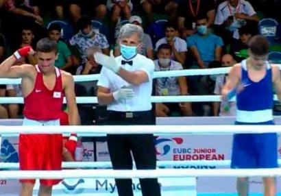 Boksçumuz Avropa çempionatının finalında