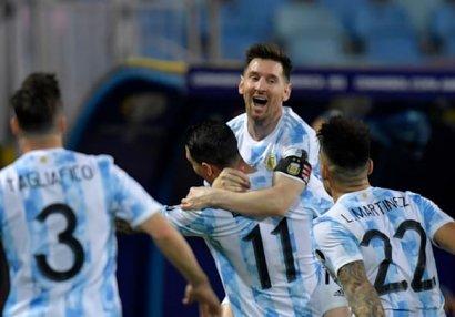 Messi bunu ilk dəfə bacardı