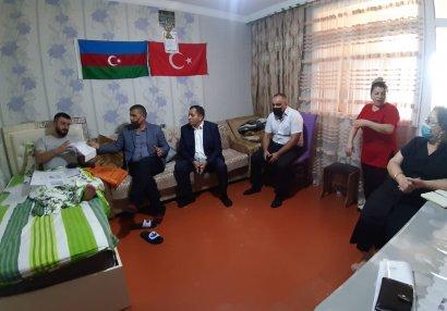 Nizami rayonunda qazilərlə görüş keçirildi - FOTOLAR