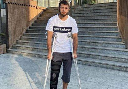 Azərbaycan millisində şok: Olimpiadaya vəsiqə qazanan idmançımız zədələndi