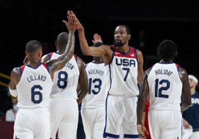 Tokio 2020: ABŞ, Fransa və İtaliya 1/4 finala yüksəldi
