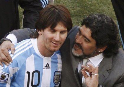 Messi Maradonanın xatirəsini belə yad etdi - FOTO