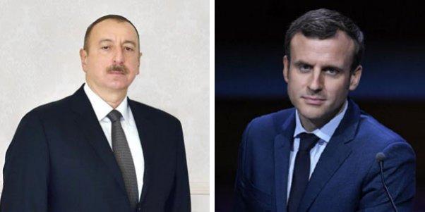 İlham Əliyev Fransa prezidentini təbrik etdi