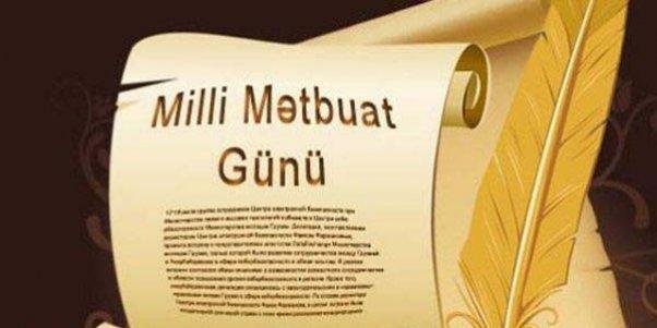 Azərbaycanda Milli Mətbuat Günü - 143 il
